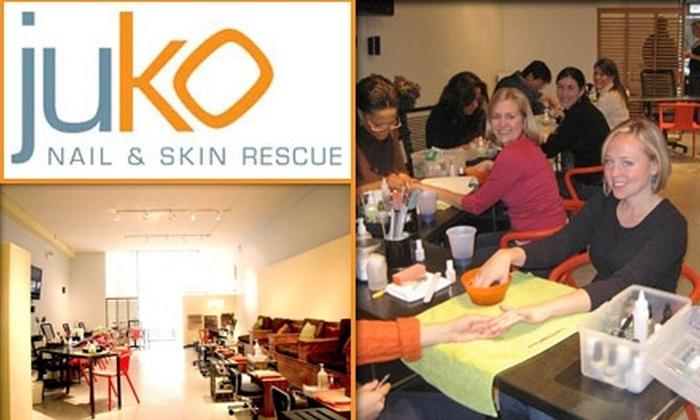 Juko Nail & Skin Rescue - Wicker Park: $20 for Mani-Pedi at Juko Nail & Skin Rescue ($40 Value)