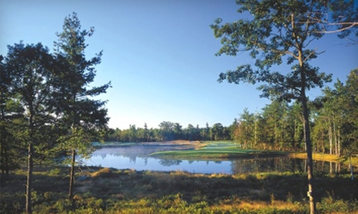 Hemlock Golf Club - Ludington: 18 Holes of Golf for Two with Cart Rental Monday–Thursday or Friday–Sunday at Hemlock Golf Club in Ludington
