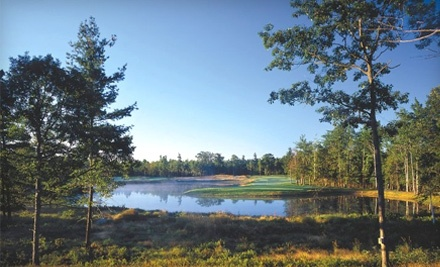 Hemlock Golf Club: 18 Holes of Golf for 2 Plus Cart Rental on Mon.-Thurs. - Hemlock Golf Club in Ludington