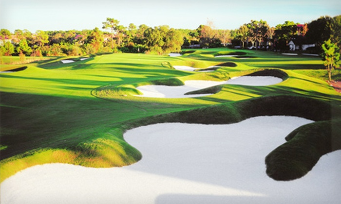Grande Pines Golf Club - Orlando: $55 for One Day of Unlimited Golf Including Cart, Range Balls, and Lunch at Grande Pines Golf Club (Up to $150 Value)