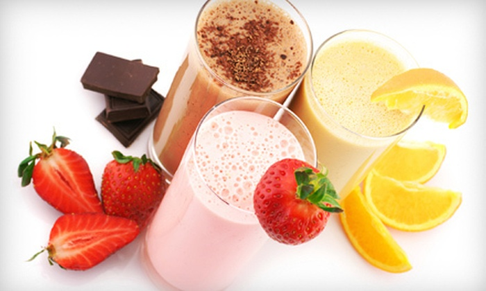 West End Blenz - Copley Junction: 10 Smoothies over Five Visits or $8 for $16 Worth of Smoothies at West End Blenz