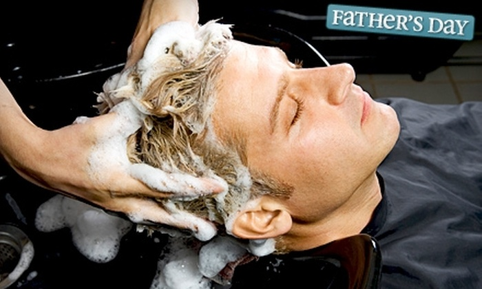 Onyx Pearl Salon & Spa - Spokane: $16 for a Men's Exclusive Salon Service at Onyx Pearl Salon & Spa ($32 Value)