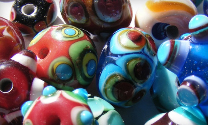 The Jacksonville Center for the Arts - Court House: Bead-Making Class or Ceramics Class with Family Membership at The Jacksonville Center for the Arts in Floyd (Half Off)