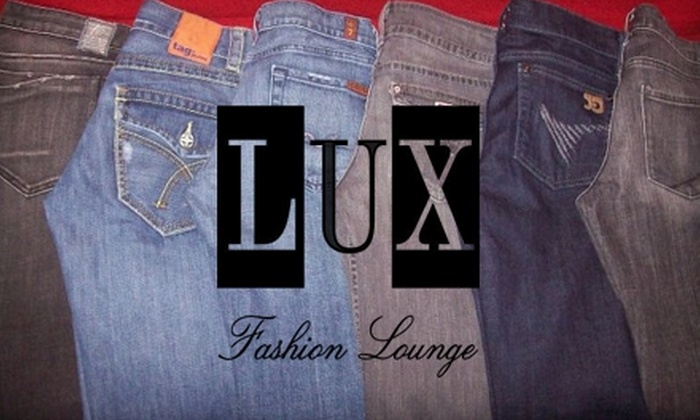 Lux Fashion Lounge - Downtown: $12 for $25 for New and Recycled Apparel at Lux Fashion Lounge