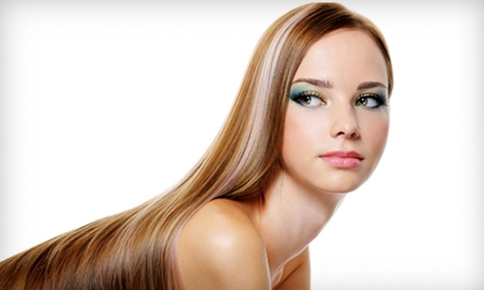 Cuttin' Loose Salon - Pensacola: $50 for a Keratin Express Straightening Treatment or Haircut and Color from Anetta Hoover at Cuttin' Loose Salon ($100 Value)