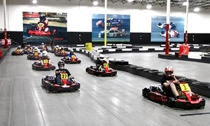 Fast Lap Indoor Kart Racing: Two Races with Membership for One, Two, or Four at Fast Lap Indoor Kart Racing (Up to 51% Off)