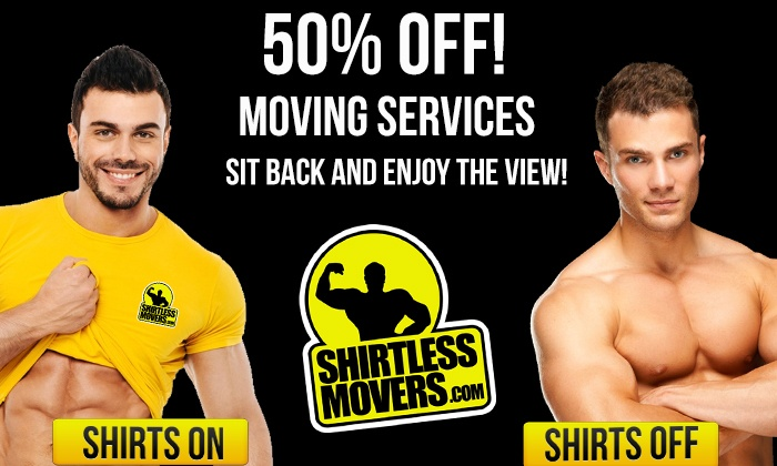 Shirtless Movers - Minneapolis / St Paul: Two Hours of Moving Services from Shirtless Movers (50% Off)