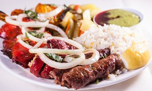 Saffron Grill: $40 for $50 Worth of Indian and Mediterranean Food at Saffron Grill