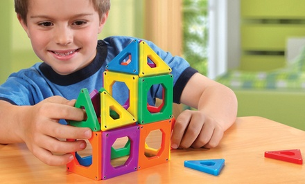 Discovery Kids Toy Magnetic Tiles