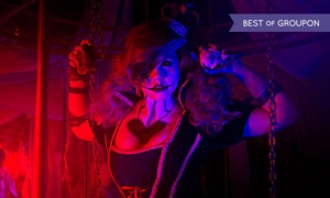 Basement of the Dead: Haunted-House Visit for Two on Valentine's-Day Weekend at Basement of the Dead (Up to 46% Off)