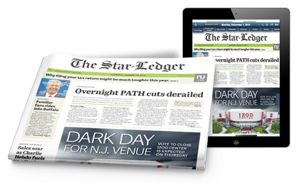 Three- or Six-Month Subscription Packages from The Star-Ledger (Up to 58% Off)