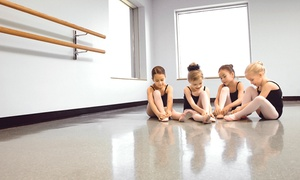 Dance Works: One or Two Months of Preschool Dance Classes at Dance Works (Up to 55% Off)