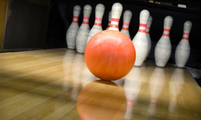 Ventura Bowling Center - San Buenaventura (Ventura): $19 for One Hour of Bowling and Shoe Rentals for Four at Ventura Bowling Center ($38 Value)