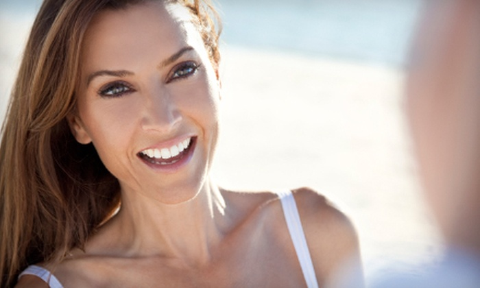 Apple Tree Dental - Royal Palm Beach: $99 for Zoom! Teeth Whitening with Exam and X-rays at Apple Tree Dental in Royal Palm Beach ($300 Value)