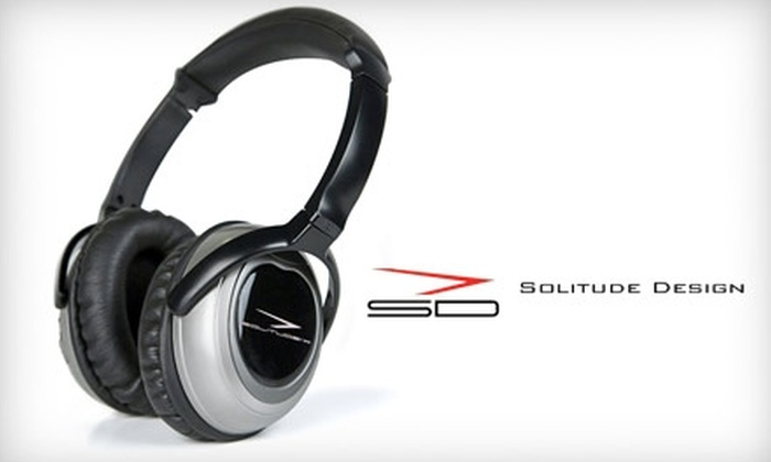 ProTravelGear.com: $99 for Solitude X Active Noise-Canceling Headphones from ProTravelGear.com ($199.95 Value)