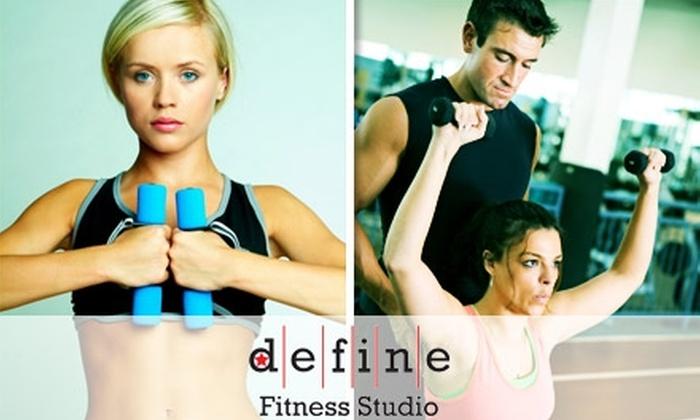 Define Fitness Studio - Wilburton: $40 for One Month of Exercise Training at Define Fitness Studio ($320 Value)