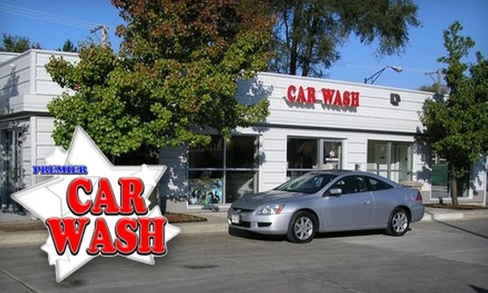 "Premier Car Wash and Detail Center - Multiple Locations: $10 for ""The Works"" at Premier Car Wash (Up to $26.95 Value)"