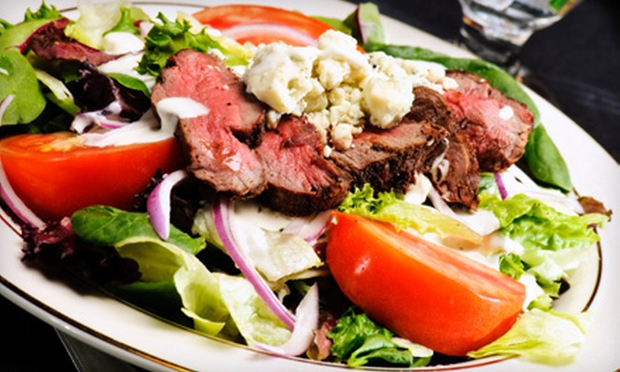 Jimmy V's Steakhouse & Tavern - Raleigh / Durham: $15 for $30 Worth of Steaks and Seafood at Jimmy V's Steakhouse & Tavern in Cary