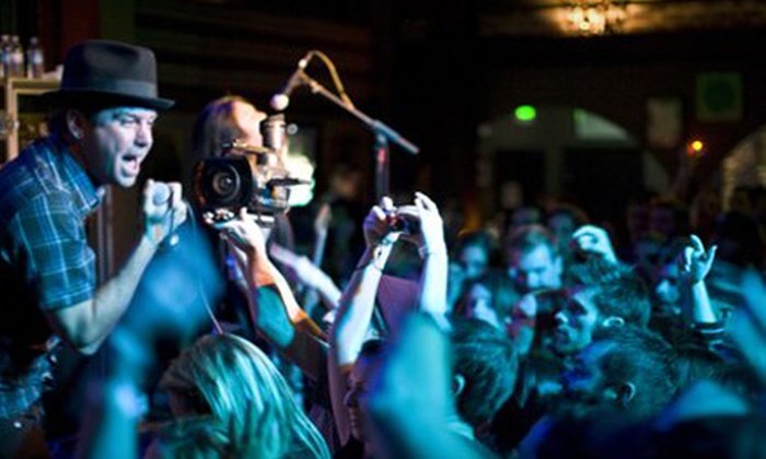 Saint Rocke - Los Angeles: Live-Music Night with American Fare and Drinks for Two, Four, or Six at Saint Rocke in Hermosa Beach (Up to 61% Off)