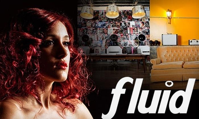 Fluid Hair Salon - Ritchie: $25 for $80 Worth of Salon Services at Fluid Hair Salon
