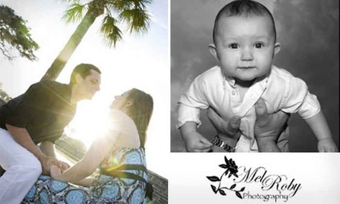 Mel Roby Photography - Jacksonville: $45 for a Beach Photo Shoot with Prints from Mel Roby Photography ($150 Value)