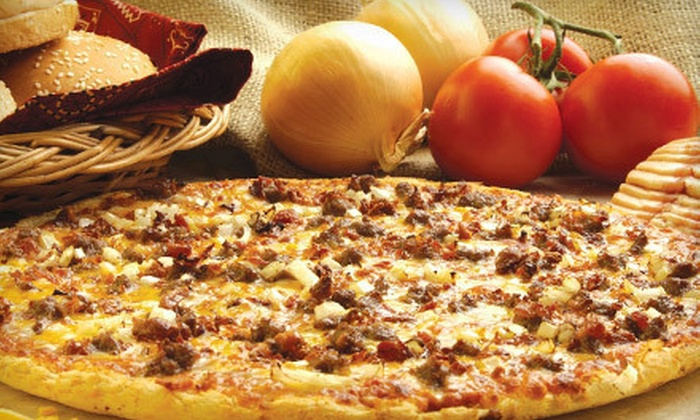 Johnny's Pizza House - North Dallas,Platinum Corridor,Far North Dallas: Eight Pizzas and Four Orders of Breadsticks or $10 for $20 Worth of Pizzeria Fare at Johnny's Pizza House in Addison