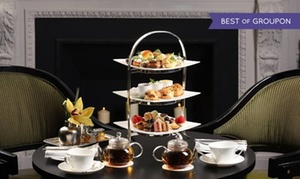 Two E Bar/Lounge at The Pierre, A Taj Hotel: Royal or Traditional Tea Service for Two at Two E Bar/Lounge at Five-Star Rated The Pierre, A Taj Hotel (Up to 32% Off)