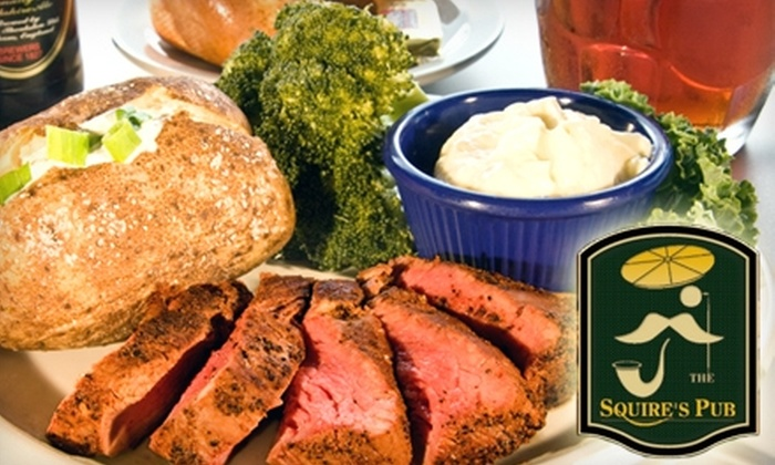 Squire's Pub - Southern Pines: $7 for $15 Worth of Lunch Fare at Squire's Pub