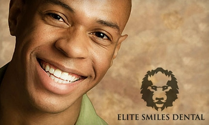 Elite Smiles Dental - Multiple Locations: $49 for an Oral Exam, X-ray, Teeth Cleaning, and Take-Home Whitening Kit from Elite Smiles Dental