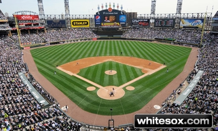 Chicago White Sox - Armour Square: Lower Reserved Ticket and a Two-Hour Patio Party at a Chicago White Sox Game. Eight Options Available.