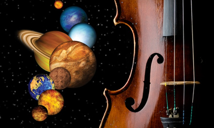 """Lynchburg Symphony Orchestra's """"The Space Spectacular"""" - Lynchburg: $20 for Two Tickets to Lynchburg Symphony Orchestra's """"The Space Spectacular"""" on November 20 at 3 p.m. (Up to $40 Value)"""