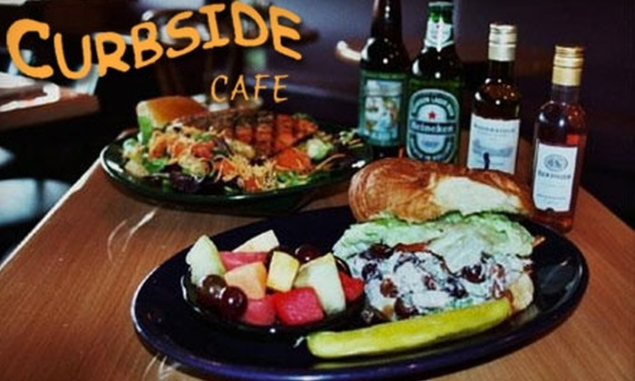 Curbside Cafe - Roswell: $10 for $20 Worth of Contemporary American Cuisine and Drinks at Curbside Cafe