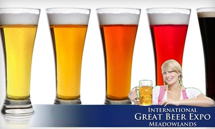 International Great Beer Expo - Secaucus: $21 for Admission to the International Great Beer Expo in Secaucus