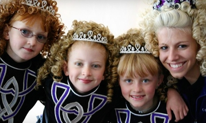 Celtic Steps School of Irish Dance - Multiple Locations: $25 for Five Drop-In Classes at Celtic Steps School of Irish Dance (Up to $85 Value)