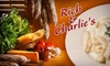 Rich & Charlie's - Multiple Locations: $10 for $25 Worth of Italian Fare at Rich & Charlie's