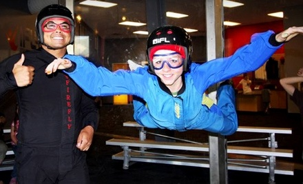iFly Utah: 2 Flight Tickets, 2 T-Shirts and 2 DVDs - iFly Utah in Ogden
