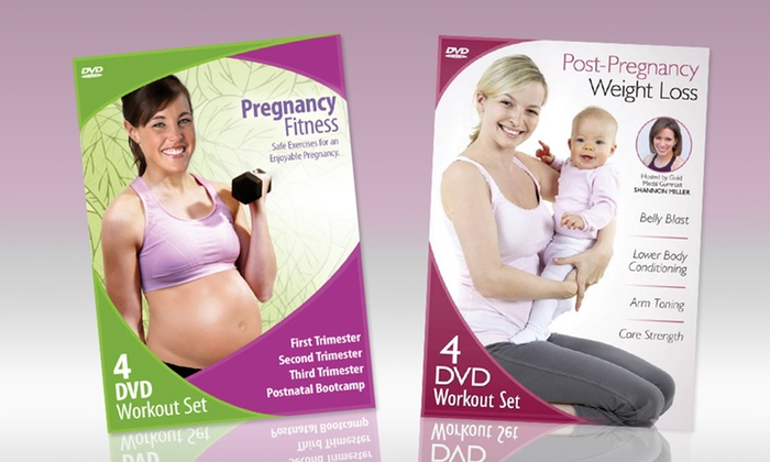 Pregnancy and Post-Pregnancy Fitness 8-DVD Set: Pregnancy and Post-Pregnancy Fitness 8-DVD Set. Free Returns.