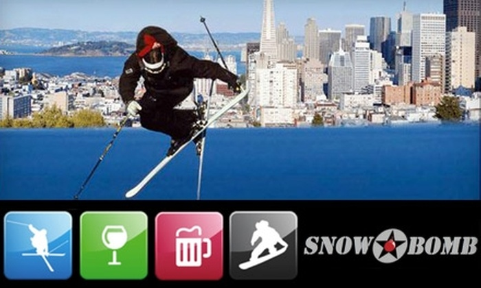 SnowBomb Ski & Snowboard Festivals - Multiple Locations: $10 for a One-Day General Admission to the San Francisco or Silicon Valley Ski & Snowboard Festival ($20 Value). Choose One of Two Locations.