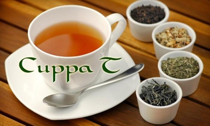 Cuppa T II Specialty Teas - Saskatoon: $10 for $20 Worth of Teas and Accessories at Cuppa T II Specialty Teas