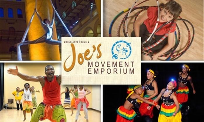 Joe's Movement Emporium - Mount Rainier: $29 for Five Dance and Fitness Classes at Joe's Movement Emporium ($65 Value)