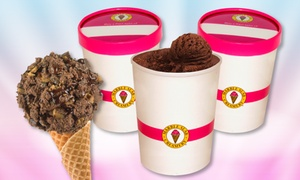 Marble Slab Creamery: Ice Cream Treats or One or Two Quarts of Ice Cream at Marble Slab Creamery - Rolling Oaks Mall (40% Off)