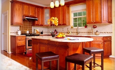 Deluxe Vanity: $1000 Groupon for Kitchen Remodelling - Deluxe Vanity in