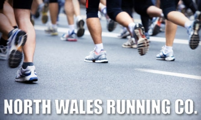 North Wales Running Company - North Wales: $25 for $50 Worth of Shoes, Apparel, and Accessories at North Wales Running Company