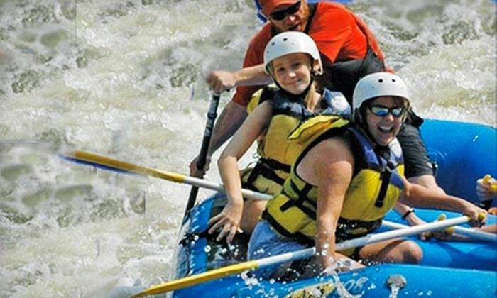 Huck Finn Rafting Adventures - Hot Springs: $22 for a Whitewater-Rafting Trip Guided by Huck Finn Rafting Adventures in Hot Springs (Up to $48 Value)