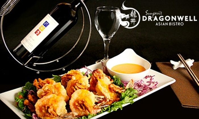Sungari's Dragon Well Bistro - Downtown: $15 for $30 Worth of Asian Cuisine and Drinks at Sungari's Dragonwell Asian Bistro