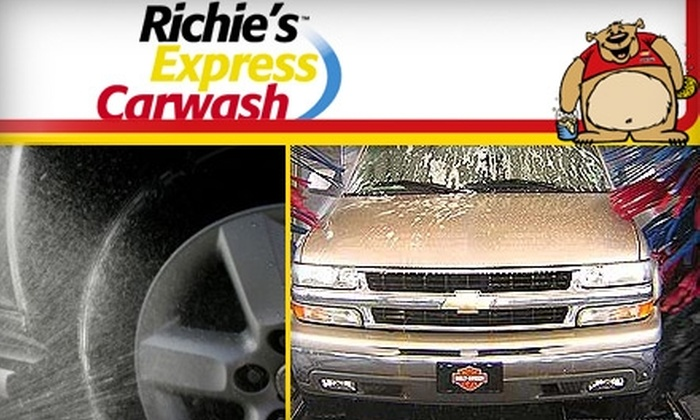 Richies Express Carwash - Parker: $30 for Five Works Washes at Richie's Express Carwash