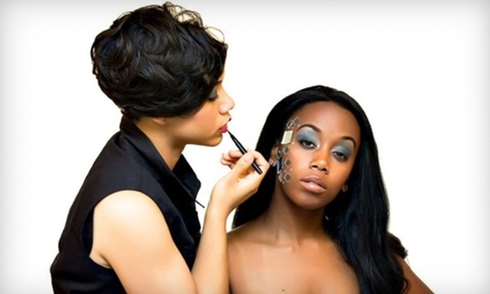 KCJ Makeup Artistry - Central Business District: $39 for a Basic Makeup Application and Brow Shaping  from KCJ Makeup Artistry ($90 Value)