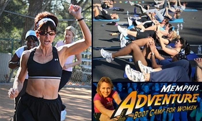 Memphis Adventure Boot Camp - Memphis: $49 for Four Weeks of Boot-Camp Classes at Memphis Adventure Boot Camp for Women