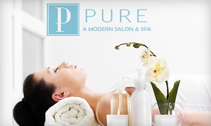 Pure Salon and Spa - Anderson: $45 for $100 Worth of Salon and Spa Services at Pure Salon and Spa in Anderson