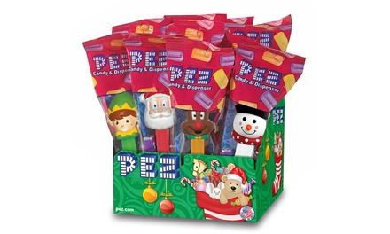 Pez Christmas-Themed Dispensers (12-Pack)